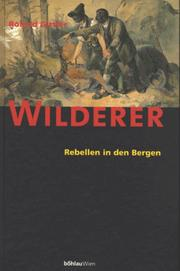 Cover of: Wilderer