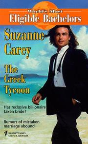 Cover of: The Greek Tycoon   (World's Most Eligible Bachelors)