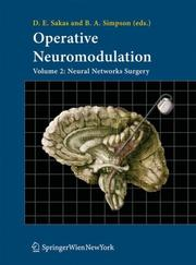 Cover of: Operative Neuromodulation: Volume 2 |