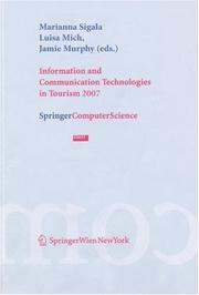 Information and Communication Technologies in Tourism 2007 by