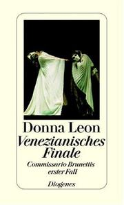 Cover of: Venezianisches Finale. Commissario Brunettis erster Fall