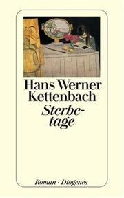 Cover of: Sterbetage