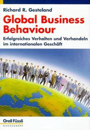 Cover of: Global Business Behaviour