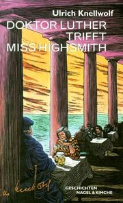 Cover of: Doktor Luther trifft Miss Highsmith