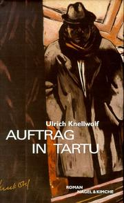 Cover of: Auftrag in Tartu