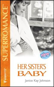 Cover of: Her Sister's Baby (9 Months Later)