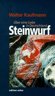 Cover of: Steinwurf
