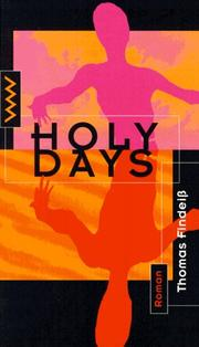 Cover of: Holy days
