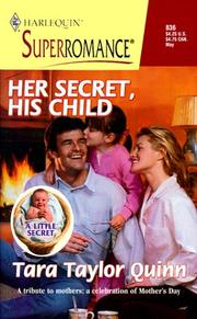 Cover of: Her Secret, His Child: A Little Secret (Harlequin Superromance No. 836)