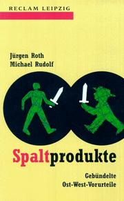 Cover of: Spaltprodukte