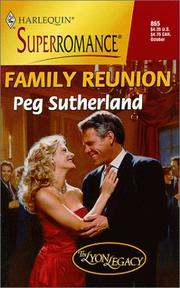 Cover of: Family Reunion | Peg Sutherland