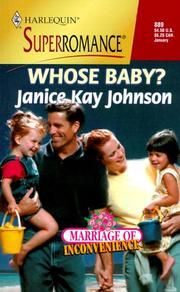 Cover of: Whose Baby? Marriage of Inconvenience