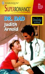 Cover of: Dr. Dad | Judith Arnold