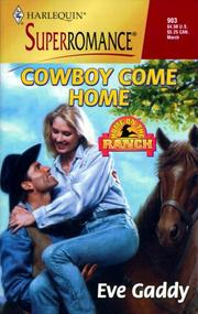 Cover of: Cowboy Come Home