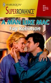 Cover of: A Man Like Mac by Fay Robinson