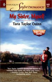 Cover of: My Sister, Myself: Shelter Valley Stories (Harlequin Superromance No. 949)