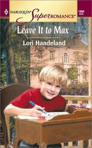 Cover of: Leave It to Max