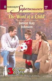Cover of: The Word of a Child