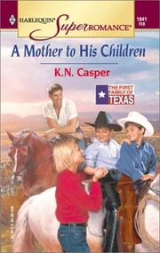 Cover of: Mother to His Children