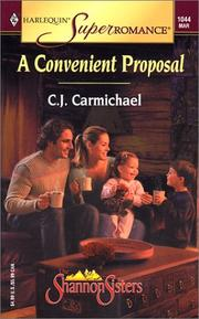 Cover of: A Convenient Proposal