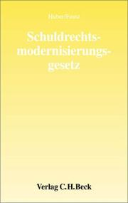 Cover of: Schuldrechtsmodernisierung