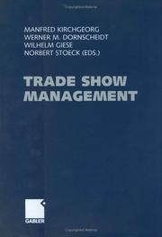 Cover of: Trade Show Management | Manfred Kirchgeorg