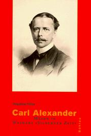 Cover of: Carl Alexander