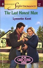 Cover of: The last honest man