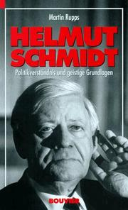 Cover of: Helmut Schmidt