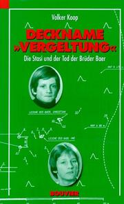 "Cover of: Deckname ""Vergeltung"""