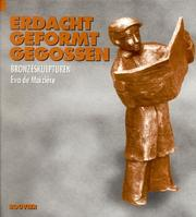 Cover of: Erdacht, geformt, gegossen