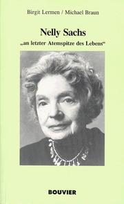 Cover of: Nelly Sachs