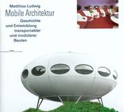 Cover of: Mobile Architektur