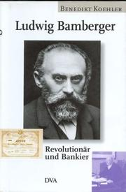 Cover of: Ludwig Bamberger