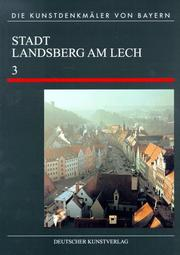 Cover of: Landsberg am Lech