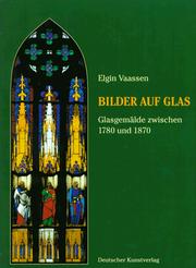 Cover of: Bilder auf Glas