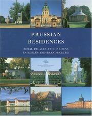 Cover of: Prussian residences