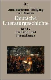 Cover of: Realismus und Naturalismus