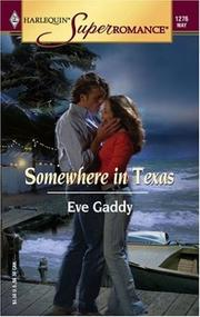 Cover of: Somewhere in Texas