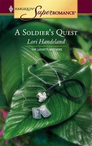 Cover of: A soldier's quest