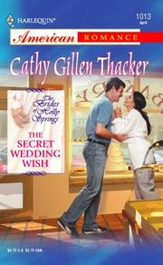 Cover of: The secret wedding wish