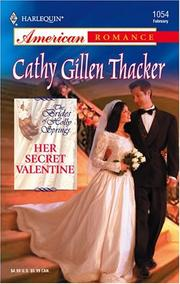 Cover of: Her secret Valentine