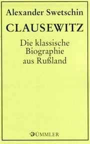 Cover of: Clausewitz