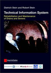 Cover of: The Rehabilitation and Maintenance of Drains and Sewers (Technical Information System)