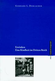 Cover of: Drenkeling