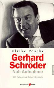 Cover of: Gerhard Schröder