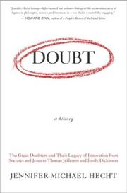 Cover of: Doubt: A History | Jennifer Hecht