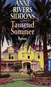 Cover of: Tausend Sommer