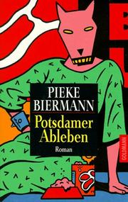 Cover of: Potsdamer Ableben