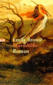 Cover of: Sturmhöhe | Emily Brontë